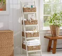 Ainsley Ladder Floor Storage Pottery Barn