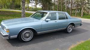 1981 Chevrolet Caprice Classic Sedan RWD For Sale - CarGurus