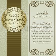 Baroque Wedding Invitations Antique Baroque Wedding Invitation Ornate Round Frame Brown On