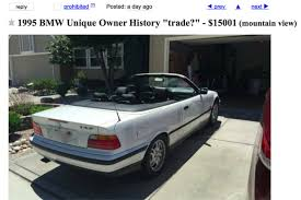Coupe Series 1995 bmw 325i for sale : Steve Jobs' 1995 BMW Can Be Yours for $15,001
