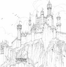 A Sneak Peak At The Game Of Thrones Coloring Book Winter Is Coming L