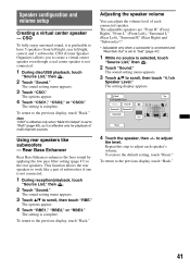 sony xav 64bt sub out operating instructions