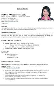 How To Make Resume For Job Gorgeous How To Make A Resume For Job Formatted Templates Example