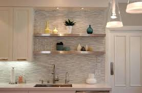 floating kitchen shelves modern horizontal mosaic tile kitchen with floating kitchen shelf kitchen floating shelf diy