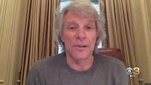 Bon jovi is an american hard rock band from sayreville, new jersey. Coronavirus Latest Cbs3 S Ukee Washington Speaks To Jon Bon Jovi About Covid 19 Pandemic Ahead Of Jersey 4 Jersey Benefit Event Cbs Philly