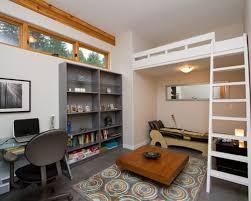 Kids' room - transitional concrete floor kids' room idea in Vancouver