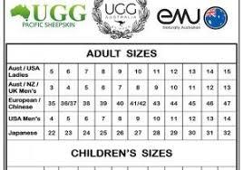 Infant Ugg Sizing Chart Crackfree Org