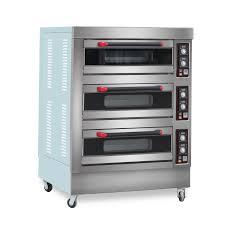 Bánh Mì Làm Bánh Thiết Bị 3 Tầng 6 Khay Nướng Điện Lò Gas Bánh Loại Bánh  Quy Baker Máy Bán|Waffle Makers