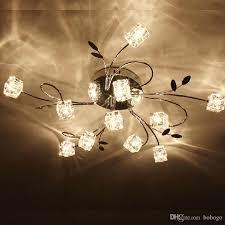 creative bedroom lighting. 2017 new 1113lights crystal cube ceiling light lamp living room bedroom lighting fixture creative led foyer modern from bobogo g