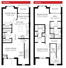 1750 Lake Washington Blvd North  Luxury Townhome CondominiumsTownhomes Floor Plans
