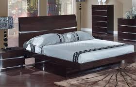 wenge finish modern stylish bedroom w optional casegoods