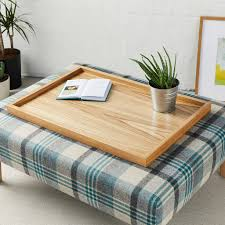 large luxury wooden tray