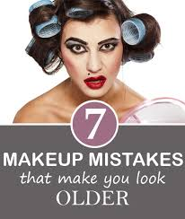 7 makeup mistakes that make you look older