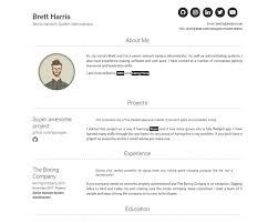 Modern Network Administrator Resume Jekyll Themes Modern Resume