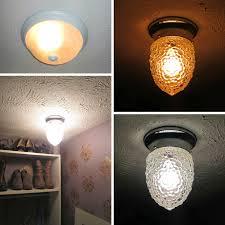 beautiful closet ceiling light fixtures with elegant shape ideas