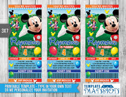 mickey invitation template blank mickey mouse invitation template mickey mouse ticket invitation invitation psd by templatemansion