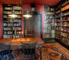 home library lighting. vintage library table design home lighting