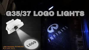 Infiniti G35 Door Light Logo Infiniti G37 Ghost Shadow Door Lights