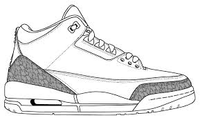 Air Jordan Coloring Pages Pji8 Retro Jordan Color Pages Model