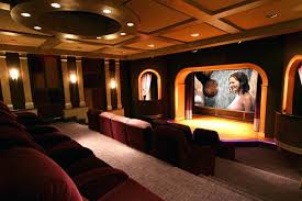 coffered ceiling lighting. Coffered Ceiling Lighting Young Recliner Home Theater Contemporary With Recessed