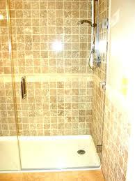 showers half glass shower door bathtub panel for your drain bat