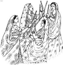 Small Picture Folk Dances Of India Coloring Pages Top 20 Indian Folk Dance