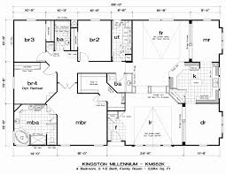 modular homes 5 bedroom floor plans best of 28 new gallery quadruple wide mobile home floor