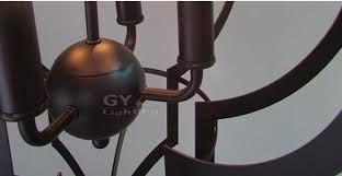 candle decorative modern pendant lamp. ac100240v 4260cm 4pcs e14 candle lantern chandelier light fixtures metal cage modern decorative pendant lamp