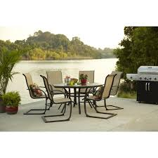Decorating Steel Dining Chair With Lowes Patio Cushions For