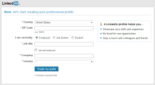 example of profile title