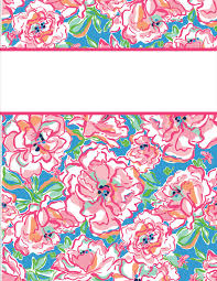 Free Printable Binder Covers Free Printable Binder Covers Lilly Pulitzer Download Them Or Print