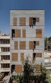 office facades. Andarzgoo Residential Building By Ayeneh Office Facades