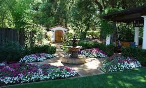 Stunning Mediterranean Garden Designs Awesome Mediterranean Garden Design Image
