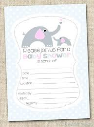 Baby Shower Printable Invitations And Baby Shower Invitations