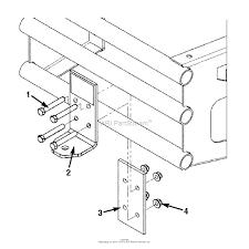 Snapper trailer hitch kit zt series 1 parts diagram for