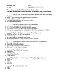 multiple test huck finn multiple choice test ap language style by b tpt