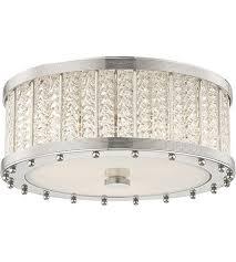 hudson valley 8116 pn shelby 3 light 16 inch polished nickel flush mount ceiling light