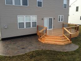 wood deck patio or refacing ideas covers design templates wood deck with paver patio ground