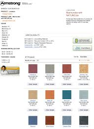 Armstrong Cove Base Color Chart Seven Sustainable Choices For A Doctors Office Passive