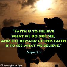 Faith Christian Quotes Best Of Augustine Quote Faith ChristianQuotes