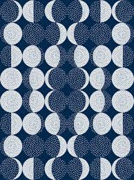 Moon Pattern Gorgeous Moon Phases Embroidery Fabric Marketastengl Spoonflower