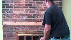 Installation of TV over brick fireplace (Customized Solution - YouTube