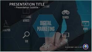 Digital Marketing Ppt Template Excellent Digital Marketing Ppt