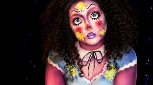 rag doll halloween makeup tutorial