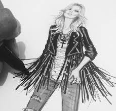 Kate Moss Fashion Illustrator Hayden Williams Team Up For Rimmel