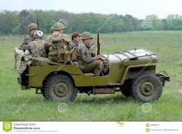 Willys MB jeep editorial stock image. Image of khaki - 68896844