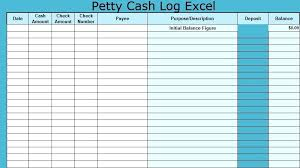 Petty Cash Log Book 8 Petty Cash Log Templates Excel Template Requisition Form Book