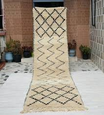 14 runner rug option handmade in wool beige not ft long 14 runner rug