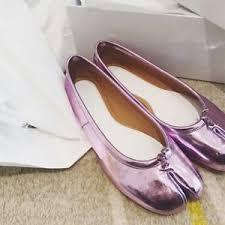 <b>Ladies Split Toe</b> Shiny Silver <b>Leather</b> Flats Oxfords <b>Womens</b> Loafers ...