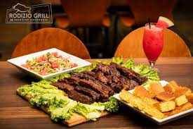 located in irving rodizio grill offers over a dozen rotisserie grilled perfectly seasoned and carved tableside by rodizio gauchos